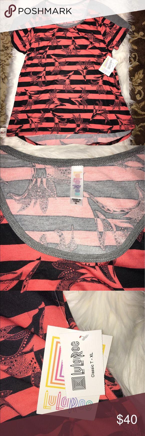 Shirt design measurements - Lularoe Classic Tee Xl Brand New Lularoe Classic Tee In Size Xl A Very Unique