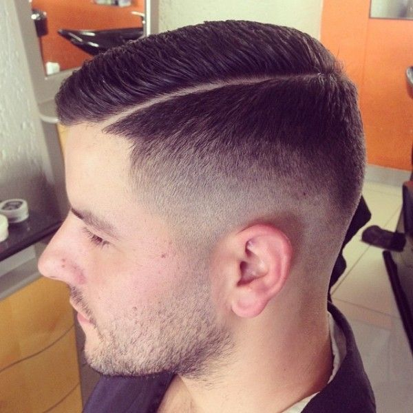 Fade Slick Razor Side Line Side Barbershops Hair Cuts Short