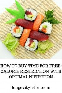 How to buy time for free: calorie restriction with optimal nutrition without daily tracking software or measuring ingredients