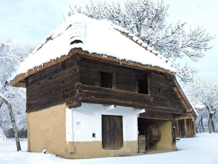Megmutatja téli arcát a gyönyörű őrségi skanzen | Sokszínű vidék