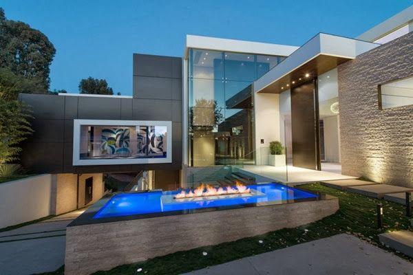 moderna casa de lujo