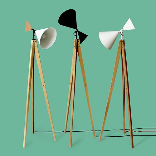 Inspired by a range of shapes and structures, but mostly by a type of windmill, Light Tale is a floor lamp in which the sense of balance and good proportion work together to serve functionality.