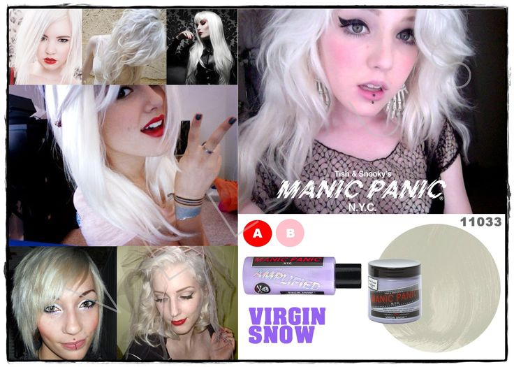 Manic Panic Amplified Virgin Snow  Vellus Hair Studio 83A Tanjong Pagar Road S(088504) Tel: 62246566