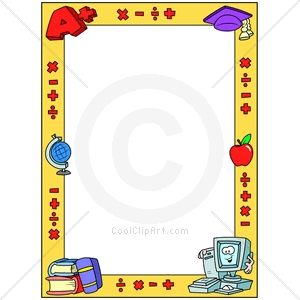 Education Borders For Word Documents Com Clip Art