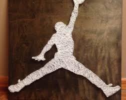 Image result for basketball string art