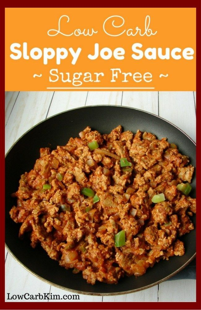 Low Carb Sloppy Joe Sauce