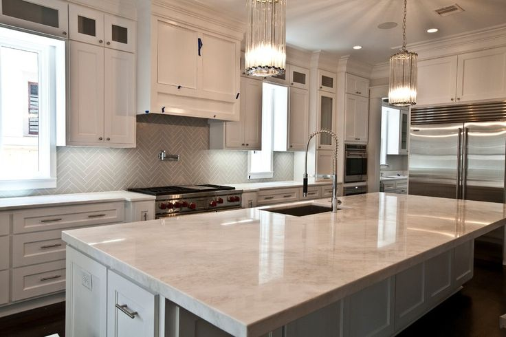 Herringbone Tile Backsplash Spaces Craftsman with Condo Stainless Steel Gas and Electric Ranges