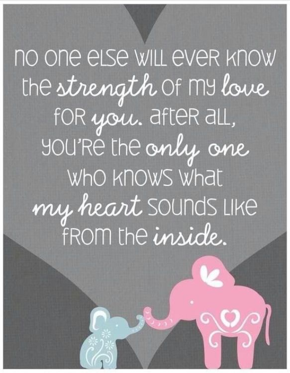 What Is Love Quotes To Know Your Heart: 'No One Else Will Ever Know The Strength Of My Love For
