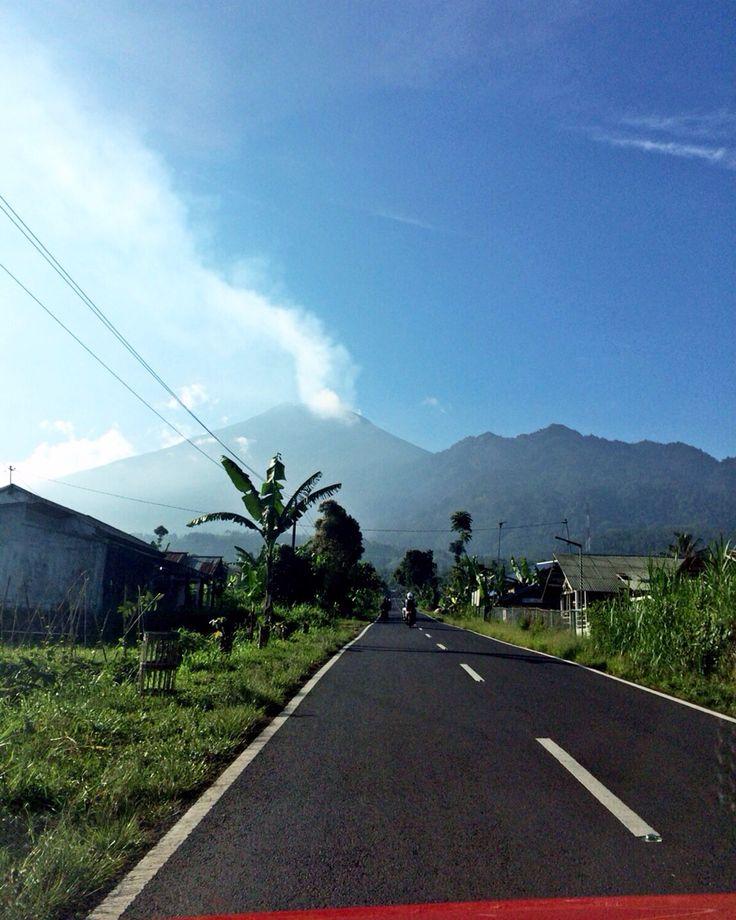 Pemalang, mountains everywhere..