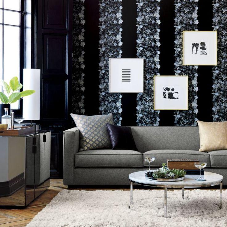puli natural shag rug  | CB2