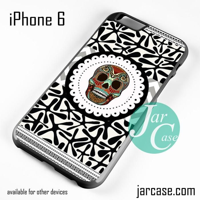 Awesome Aztec Skull Phone case for iPhone 6 and other iPhone devices
