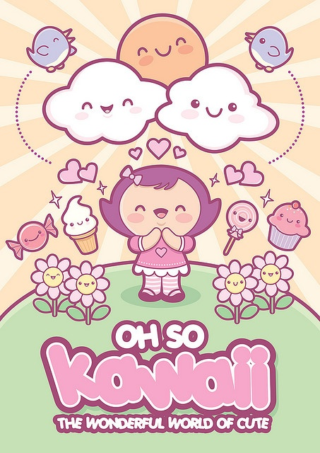 Oh so kawaii by Jerrod Maruyama #kawaii #cute #illustration - Carefully selected by @Gorgonia www.gorgonia.it