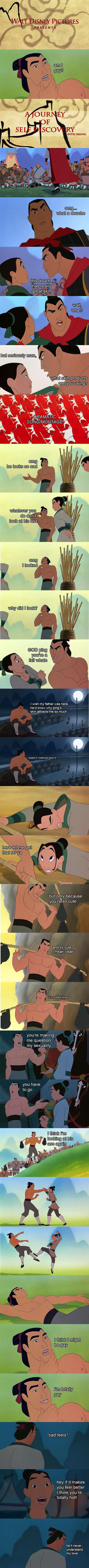 Alternate version of Mulan on point