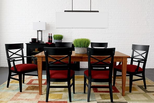 Ethan Allen Furniture Interior Design Lifestyles Modern Dining Room