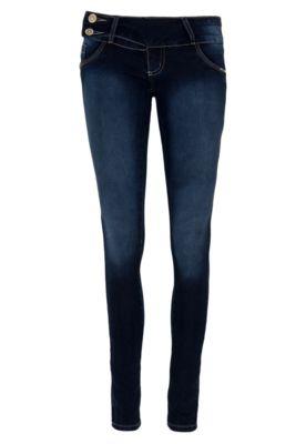 SAWARY Calça Jeans Sawary Skinny Shine Azul
