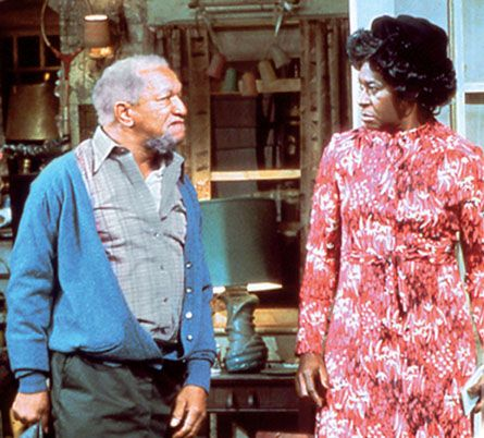 """Sanford & Son  Sanford and Son is an American sitcom, based on the BBC's Steptoe and Son, that ran on the NBC television network from January 14, 1972, to March 25, 1977. In 2007, Time magazine included the show on their list of the """"100 Best TV Shows of All Time""""."""