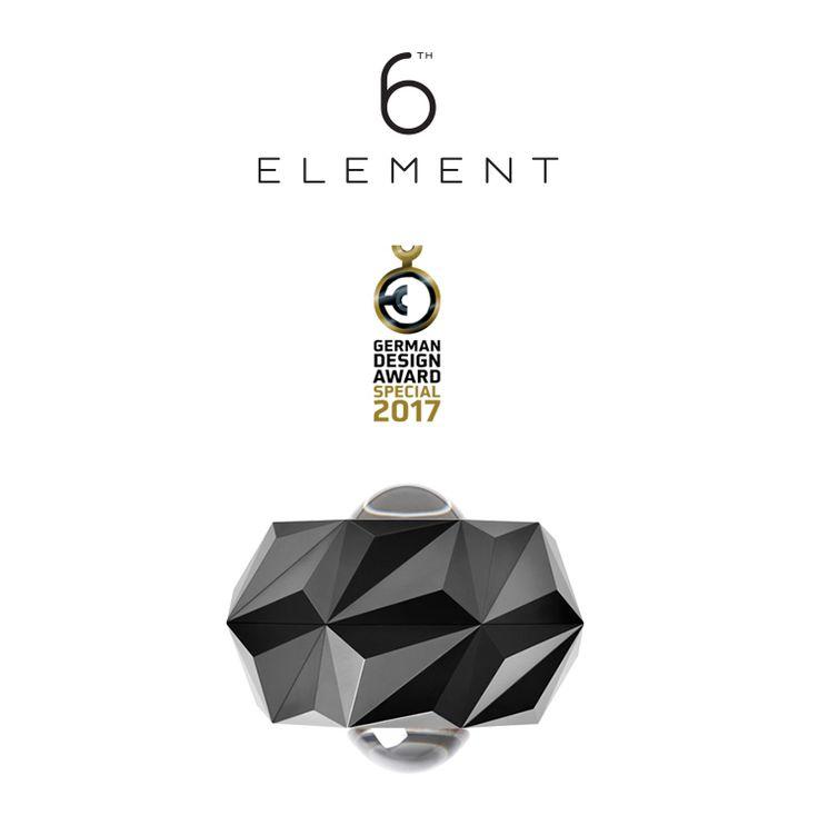 6th ELEMENT won the prestigious German Design Award - Special Mention 2017
