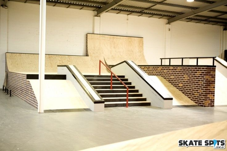 indoor skatepark ramps - Google Search