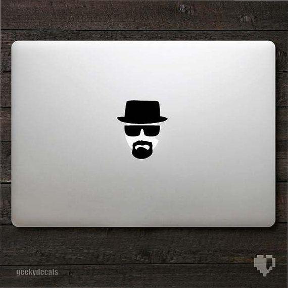 Breaking Bad Macbook Decal.: Apples Stickers, Macbook Stickers, Macbook Decals, Decals Fit, Heisenberg Macbook, Heisenberg Decals, Laptops Stickers, Macbook Apples, Breaking Bad