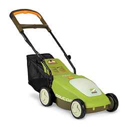 A cordless electric mower having an energy management system that allows a user to operate the cutting blade motor of the mower...