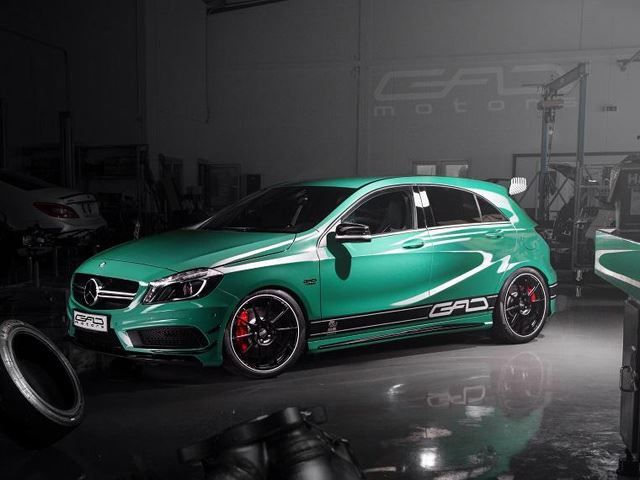 GAD Gives Mercedes A45 AMG a 430-HP Upgrade   Sport cars ...