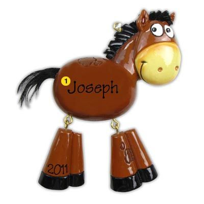 52 best Horse Christmas Ornaments images on Pinterest  Christmas