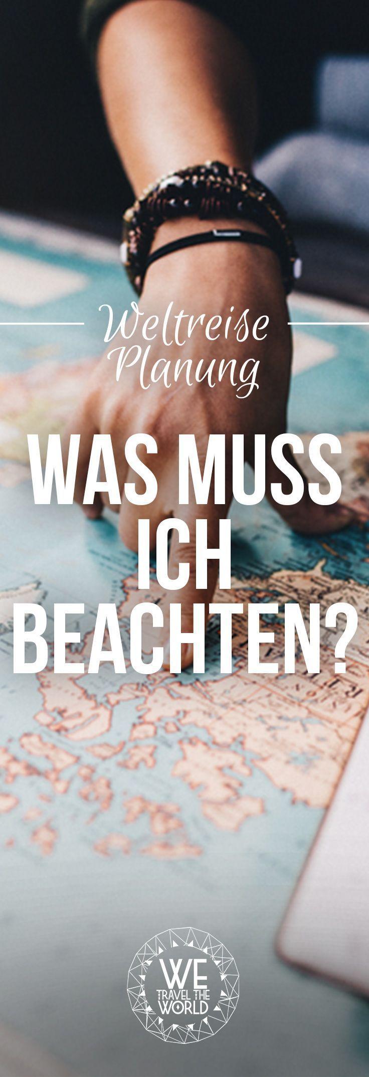 Wie plane ich eine Weltreise? Wir zeigen dir was du bei deiner Weltreise Planung alles beachten musst. #weltreise #reiseplanung #reisetipps Bild: shutterstock https://shutr.bz/2jBsjIP