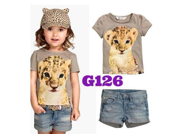 H&M Lion girlset (G126)    size 2-7    IDR 115.000