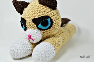 Grumpy Cat Amigurumi Pattern Free : 17 Best images about Free Crochet Patterns - Amigurumi on ...