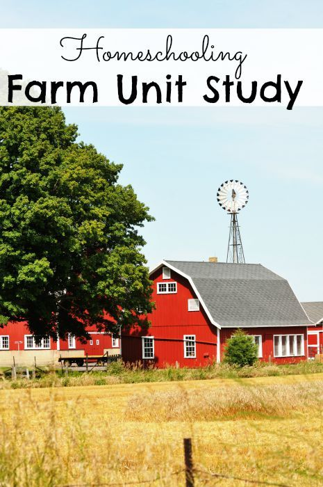 Homeschooling Farm Unit Study - The Frugal Navy Wife