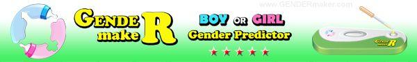 GENDERmaker.com baby gender predictor test