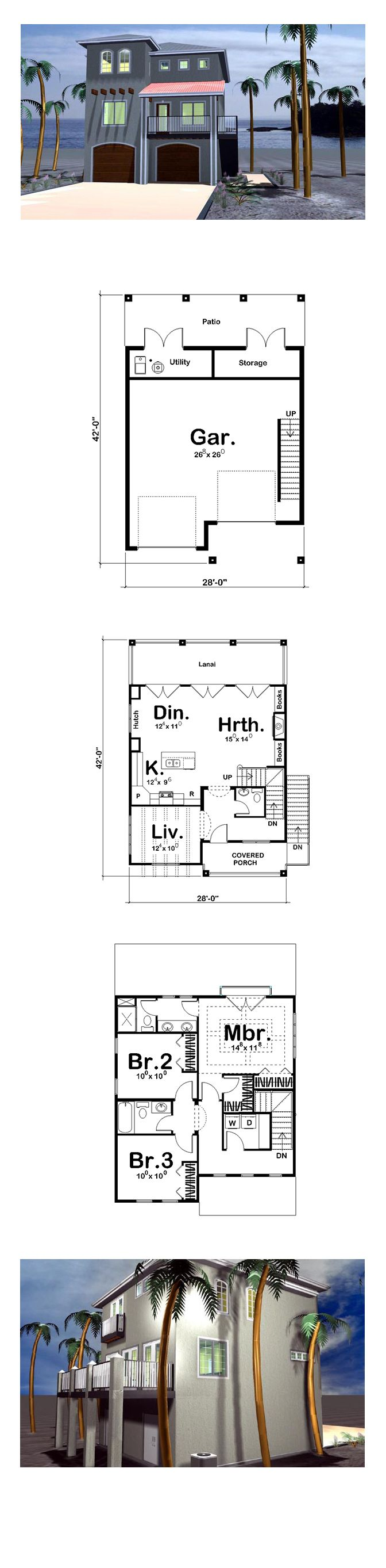 17 Best Adobe Home Plans Images On Pinterest Cool House