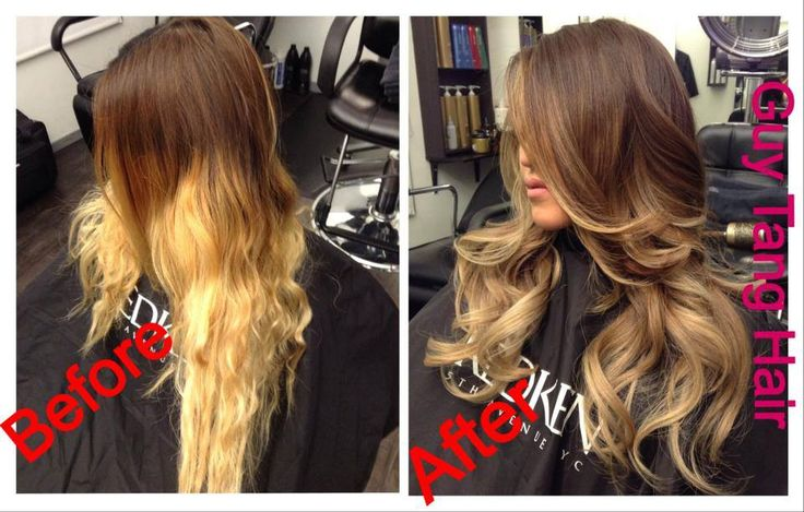 Ombre Hair The Difference Between Dip Dye And Ombr Dip Dye Is A