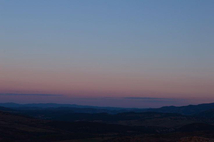 Perperikon, Bulgaria. Landscape, sunset photography