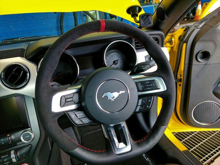Alcantara Interior Steering Wheel upgrade.