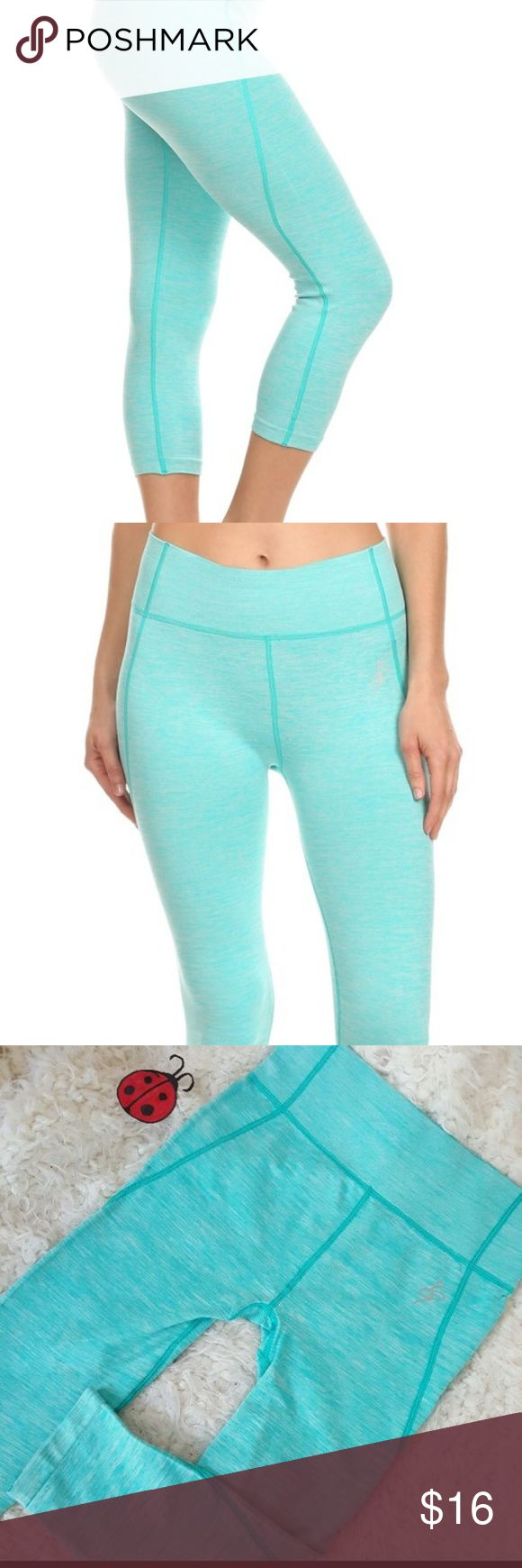 New Mint Capri yoga workout leggings Sale sale sale sale! PINK Capri yoga workout leggings, with four way stretch, moisture wicking and flat seems for extra comfort. 30% polyester 62% nylon 8% spandex  Perfect for the gym, yoga, running , weight lifting or every day wear! sizes available s-m fits 0-6 and l-xl fits 6-12. Pants Leggings