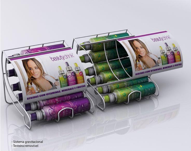 Beauty Drink - Display Balcão Gravitacional on Behance