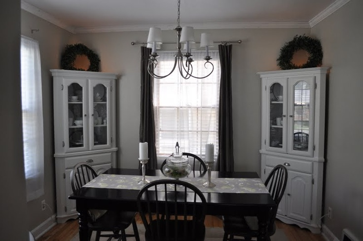 White Corner Cabinet Dining Room: Best 25+ Corner China Cabinets Ideas On Pinterest
