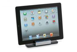 Giorgio Tablet PC Tutucu  Alman Philippi Design koleksiyonundan yepyeni bir hediye seçeneği. Siyah renkli, deri ve parlak kromdam mamul, şık bir tablet PC tutucu.