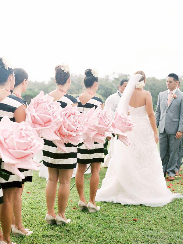 Kate Spade Inspired Wedding In Hawaii