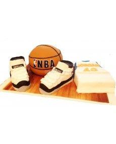 Gâteau d'anniversaire Basket ball NBA
