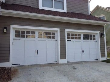 Carriage House Garage Doors - craftsman - garage doors - detroit - Premier Door Service of Detroit