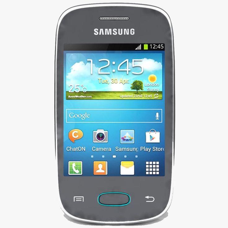 Samsung galaxy pocket neo s5310 gray 3d model ad pocket