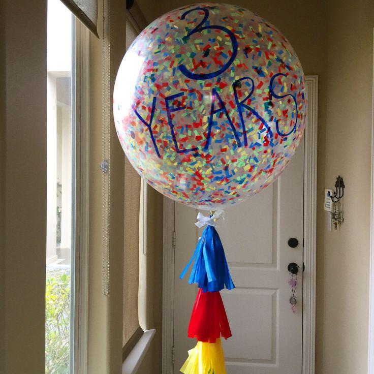 Birthday big balloons confetti valle de texas mission tx lebigballoon gmail com bbdiy