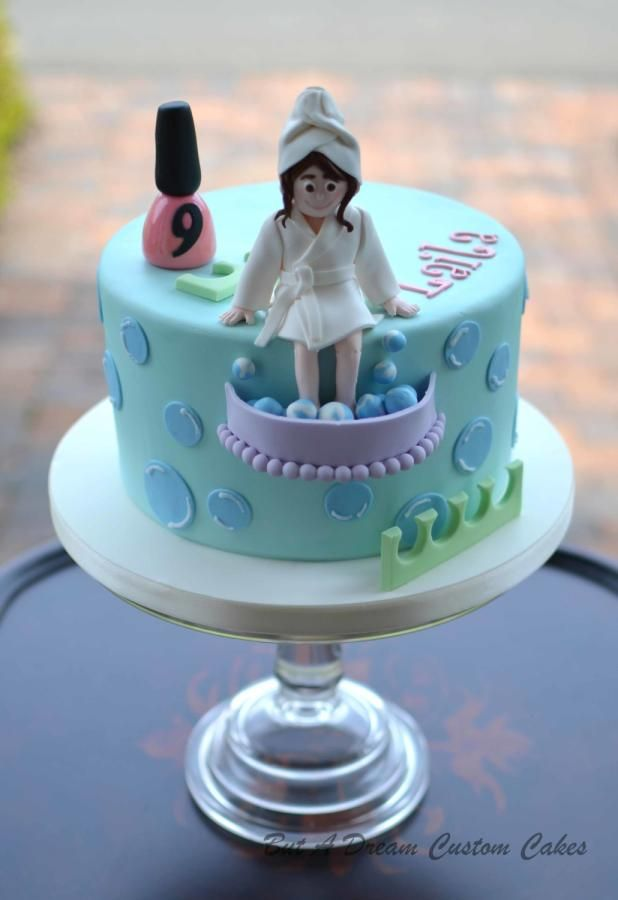 Pamper Party Cake Images : Best 25+ Spa party cakes ideas on Pinterest Spa birthday ...