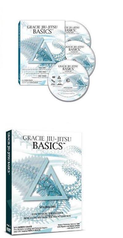 DVDs Videos and Books 73991: Gracie Academy Jiu Jitsu Basics Dvd Set (3 Discs) -> BUY IT NOW ONLY: $49 on eBay!