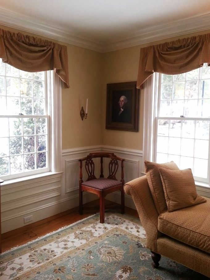 17 best images about window treatments on pinterest - Colonial style homes interior ...