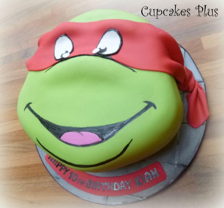 48 best Teenage Mutant Ninja Turtle Cake Ideas images on Pinterest