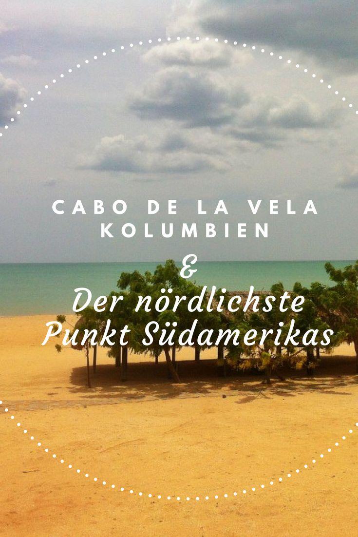 Cabo de La Vela liegt weit abseits der ausgetretenen Touristenpfade. Das Wüstenparadies befindet sich auf der La Guajira Halbinsel, an dem nördlichsten Punkt Südamerikas. Es gibt viele Gründe, warum diese neue Öko-Tourismus-Destination für die meisten Touristen nicht auf der Prioritätenliste steht. Aber diejenigen, die das Abenteuer suchen und den Anfahrtsweg auf staubigem Wüstenboden nicht scheuen, werden in Cabo de La Vela belohnt. #Kolumbien #Südamerika #Reisetipps #Reiseidee…
