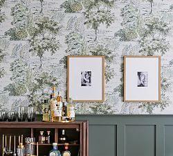 Coral Watercolor Dots Removable Wall Decal | Pottery Barn Toile Wallpaper, Scenic Wallpaper, Wallpaper Samples, Green Wallpaper, Free Interior Design, Interior Design Services, Interior Ideas, Coral Watercolor, Removable Wall Decals